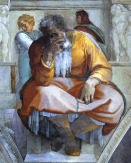 The Prophet Jeremiah - Michelangelo