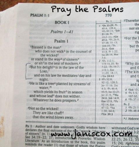 Pray-the-Psalms
