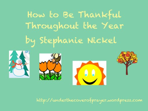 How-to-be-thankful