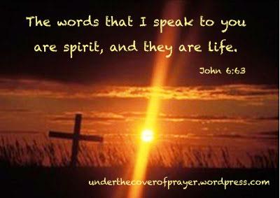 John 6;63