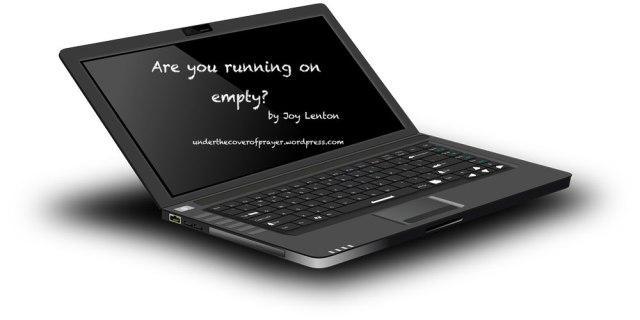 Are-you-running-on-Empty---Joy-Lenton