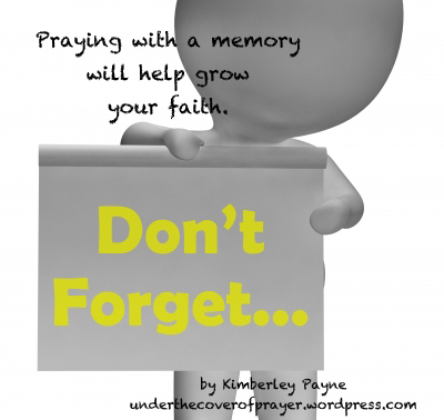 Praying with a Memory