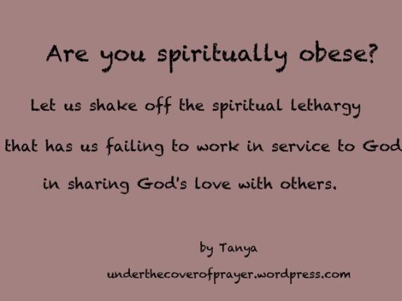 Spiritually-Obese